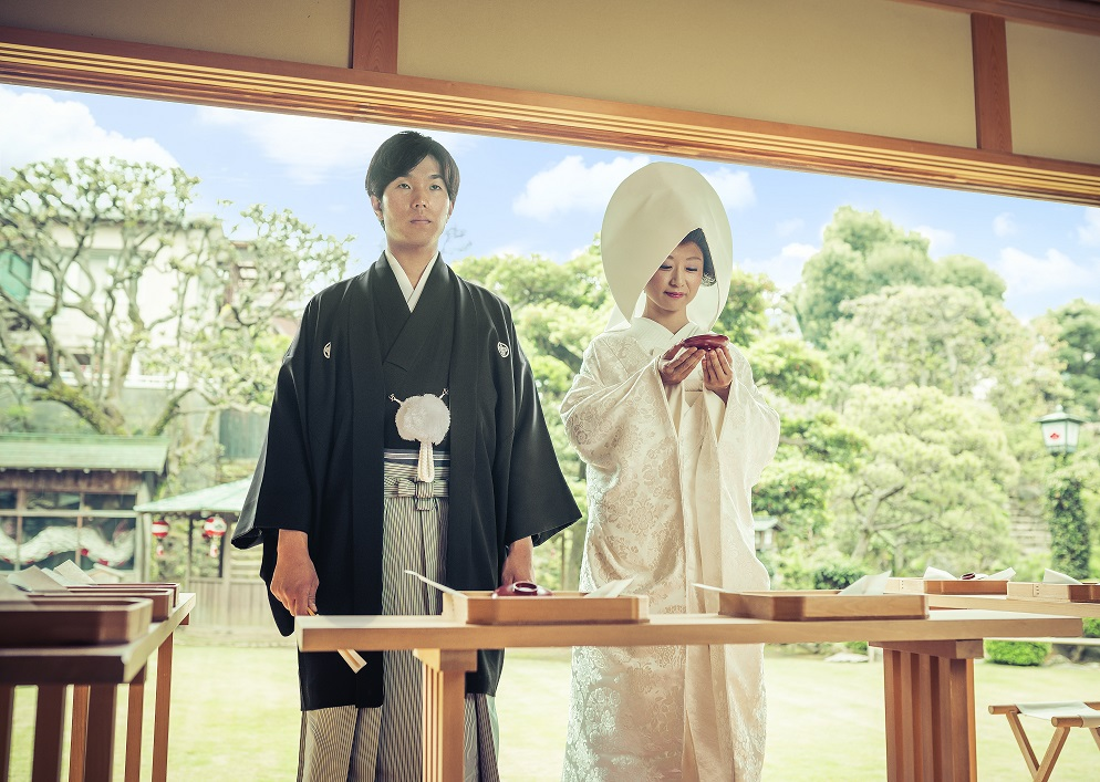 神前式 和装結婚式 花月結婚式 料亭ウェディング