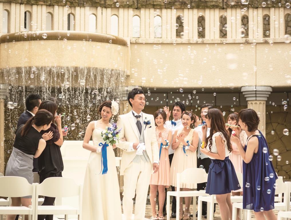 長崎の結婚式場 パサージュ琴海