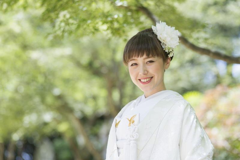 長崎の結婚式 和装 神前式 挙式 神社挙式
