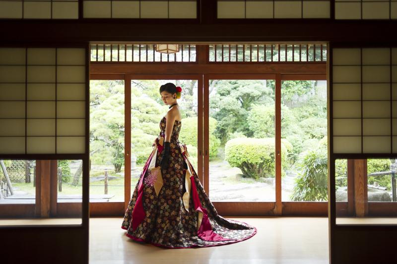 長崎の結婚式 ウェディングドレス ドレスレンタル